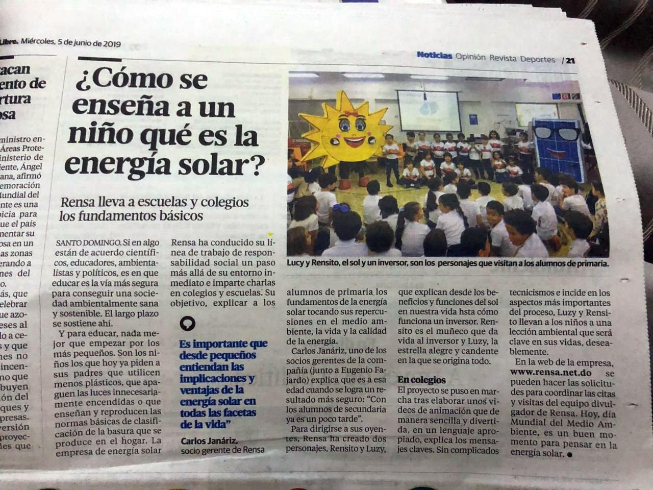 (Español) Cómo se enseña a un niño qué es la Energía Solar  –  Rensa
